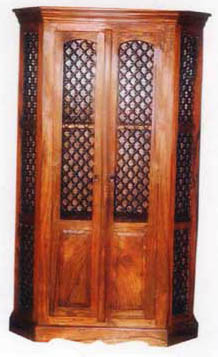 Rajasthan Wooden Almirah, Indian Wooden Crafts, Indian Furniture, Almirah from India